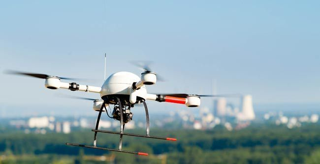UAVs - Microdrones