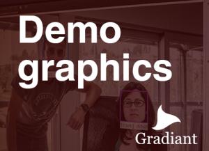 Demographics Gradiant - Tecnología perfil demográfico clientes