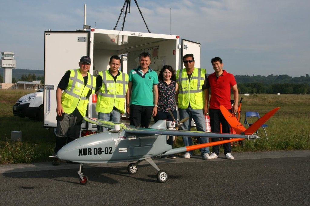 UAVs Galicia - Gradiant - Aérodromo de Rozas (Lugo)